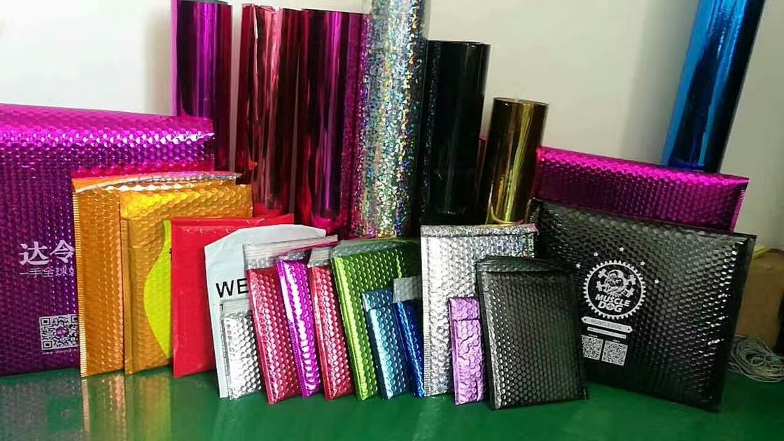 Aluminum Foil Cool Shield Bubble Mailers For Pack And Ship Fruits