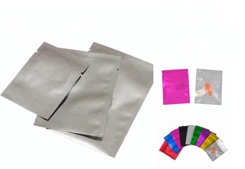 8x12 Inch Printed Aluminum Foil zip lock Bag For Static Safe Packing